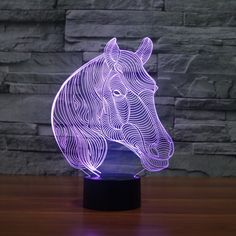 Led Lamps Acrylic Board Night Light Police Cars 3d Night Light Beside Lamp Kids Fell Safe At Night Adjustable 7 Colors Traveling