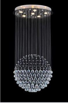 Globe Chandelier   Crystal World
