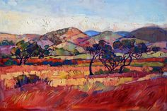 """California Color"" impressionist oil painting by local artist Erin Hanson"