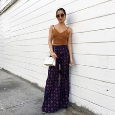 Jessi Malay wearing House of Harlow Des Pants   http://www.mywhitet.com/ootd-recap/