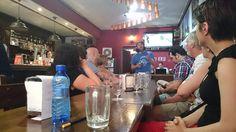 Aprendiendo sobre cervezas artesanas de Salamanca con @CervezaGarriela en @Eku2013