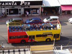 Sa Coma area - open top tour bus