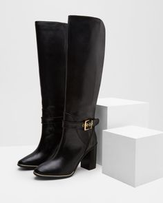 Ted Baker Leather knee high boots
