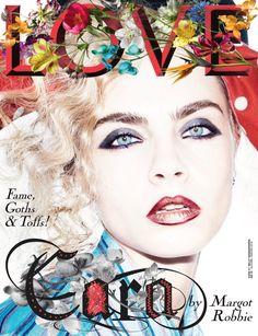 Cara Delevingne on LOVE Magazine Fall/Winter 2016 Cover
