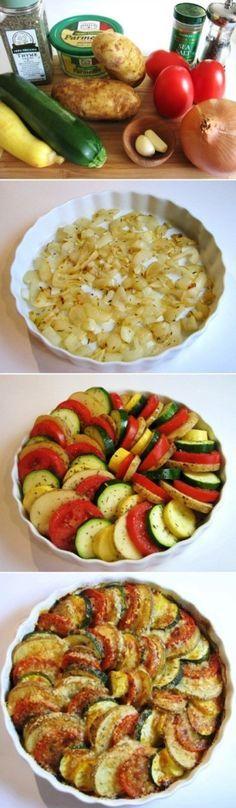 How to Make Veggie Spiral