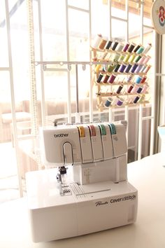 Do you need a coverstitch machine? Read this guide to find out. #coverstitchmachine #sewingmachines Sewing Machine Reviews, Creative Posters, Janome, Sewing Machines, Chain Stitch, Needle And Thread, How To Find Out, Brother, Tools