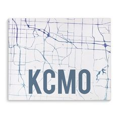 """Kavka Kcmo Purple Sunset Front Graphic Art on Wrapped Canvas Size: 16"""" H x 20"""" W x 2"""" D"""