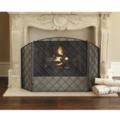 Fireplace screen - time for one that fits!