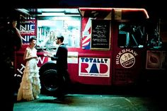 Food truck wedding @ The Green Building, courtesy of the Wall Street Journal!