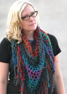 Free scarf pattern :)
