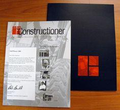Barnhill Contracting Newsletter #designboxbrand #designboxprint #barnhillcontracting