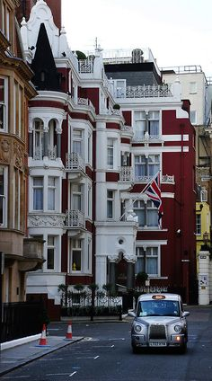 Balconies, London, England