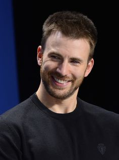 That time when something was funny. | 32 Times Chris Evans Was Too Handsome For His OwnGood
