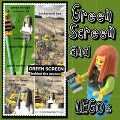 Check out Anita Goodwin's amazing blog with tons of Green Screen tips. Helpful for pretty much any school project and we love her use of legos when she Green Screens with Do Ink!