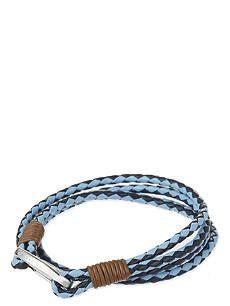 TED BAKER Mixed leather bracelet