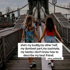 Bff and quotes image Bffs, Besties Quotes, Best Friend Quotes Funny, Funny Quotes, Bestfrnd Quotes, Crazy Friend Quotes, Qoutes, Happy Birthday Best Friend Quotes, Minions