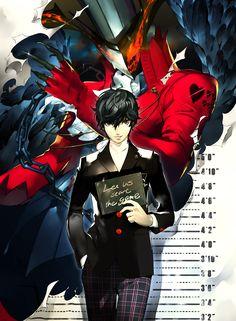 Artist: Soejima Shigenori | Shin Megami Tensei: Persona 5 | Arsène | Kurusu Akira
