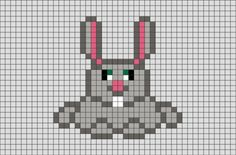Rabbit Pixel Art