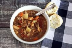 Slow Cooker Beef and Chicken Stew - Diana Rattray
