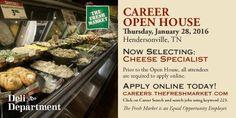 Cheese Specialist Jobs in Hendersonville TN