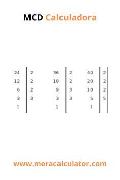 Ingrese hasta 10 números para calcular el mayor factor común usando nuestra calculadora MCD. #meracalculator #math #maths #calculators #mathcalculators Online Calculator, Languages, Bar Chart, Idioms, Bar Graphs