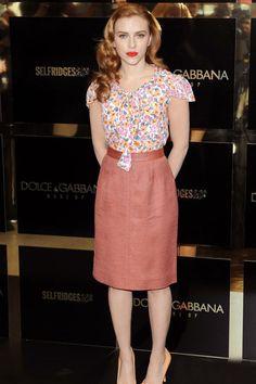 scarlett johansson fashion style | Scarlett Johansson Sean Penn Ryan Reynolds