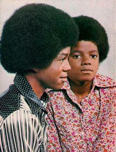 Jermaine Jackson and Michael Jackson (Jackson 5 era)