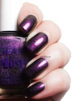 xoxoJen's swatch of Glam Polish Fires of Mordor
