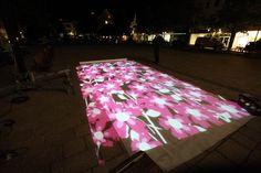 Probebeleuchtung zum Light Night Shopping in Hildesheim
