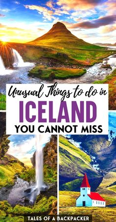 12 Unusual Things to do in Iceland for your Bucketlist - Here are 12 awesome activities in Iceland that you can do on this magical island and nowhere else! So read on for some inspiration for unique things to do in Iceland, and you won't be disappointed! | Iceland Bucketlist | Places to Visit in 2021 Travel Usa, Travel Europe, Budget Travel, Time Travel, European Travel Tips, Iceland Travel Tips, Road Trip Europe, Unusual Things, Worldwide Travel