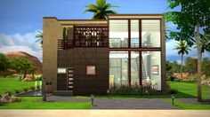 Fezet's Corporation: NeXt residential home • Sims 4 Downloads