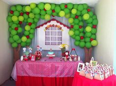 little Red Riding Hood Birthday Party Ideas | Photo 6 of 10 | Catch My Party
