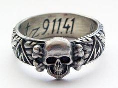 Himmler SS-Ehrenring 9.11.41 Kurtz