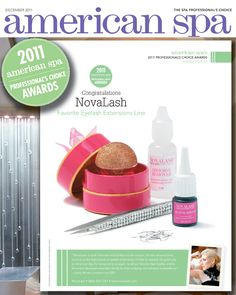 3e039ca98f0 NovaLash wins American Spa Magazine's Professional's Choice Award for  Favorite Eyelash Extensions Line -- 2 years in a row!