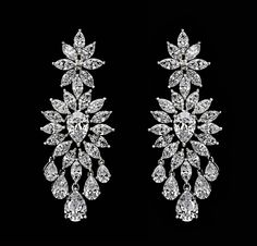 #Elegant and #eye-catching, this on-trend silhouette demonstrates #DiosabyDarshanDave's craftsmanship at its best. Each #earring features a #beautiful mix of pear and marquise-shaped #SwarovskiZirconia adding #glamour to every look. Available on www.diosajewels.com #makeeverydaybrilliant #jewellery #finejewellery #traveljewellery #weddings #fashionwear #preciousjewellery #luxejewellery  #dailywear #workwear #casualwear #destinationweddings #bridalwear