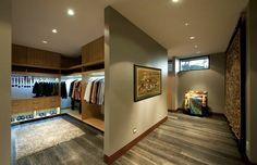 como hacer un vestidor en una habitacion abierta ideas