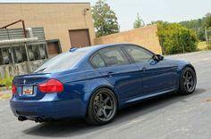 BMW E90 M3 blue