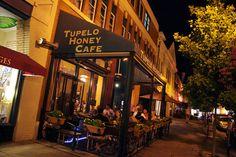 Tupelo Honey restaurant in downtown Asheville NC
