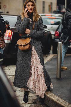 Capital Girls: The Best London Fashion Week Street Style #londonfashionweeks,