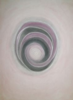 Spirale, Pastell auf Papier, BxH 36x48cm