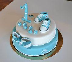 Gâteau d'anniversaire pour les 1 an d'un garçon