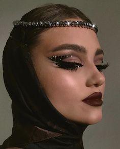 Makeup Eye Looks, Eye Makeup Art, Crazy Makeup, Cute Makeup, Glam Makeup, Pretty Makeup, Skin Makeup, Eyeshadow Makeup, Makeup Inspo