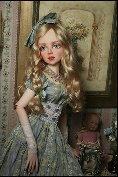 Dolls by Dale Zentner Bjd Dolls, Doll Toys, Big Eyes Artist, Realistic Dolls, Doll Repaint, Fantasy Women, Renaissance Art, Ball Jointed Dolls, Vintage Dolls