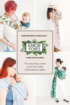 624697fdc8b Junior Foxes Ring Slings is the leading handmade baby sling and ring sling  company in Canada that makes babywearing easy