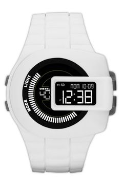 DIESEL® 'Viewfinder' Digital Watch, 43mm x 52mm available at #Nordstrom