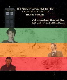 Doctor Who? No, just The Doctor.