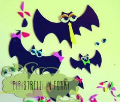 LUNAdei Creativi Magazine 2: pipistrelli in foamy