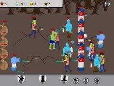Screenshot of game Zombie wars http://www.myplayyard.com/play/zombie-wars
