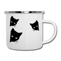 Mugs, Tableware, Cat T Shirt, Drinking Coffee, Ideas For Christmas, Tumblers, Stainless Steel, Products, Dinnerware