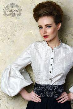 Silk blouse / Блузки ручной работы. Ярмарка Мастеров - ручная работа. Купить…